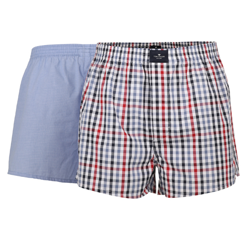 Boxershorts Tom Tailor - 2 Pack - Multi Hellblau (1)