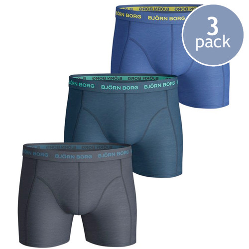 Björn Borg Boxershorts Seasonal Total Eclipse - 3er Pack (1)